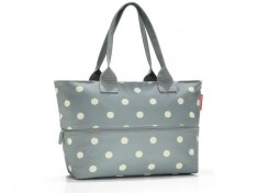 Kabelka Reisenthel Shopper e1 grey dots